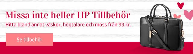 Missa inte heller HP Tillbehör