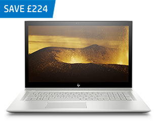 HP ENVY 17-bw0000na with 3 year Care Pack