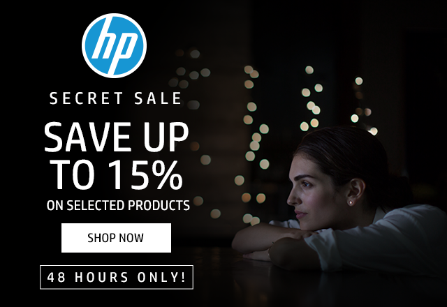 HP SECRET SALE SAVE UP TO 15%